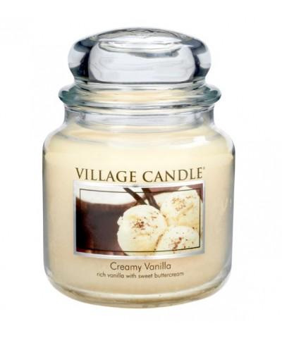 Village Candle - Świeca Średnia - Creamy Vanilla - Kremowa Wanilia