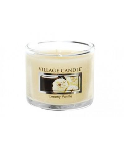 Village Candle - Glass Votive - Creamy Vanilla - Kremowa Wanilia