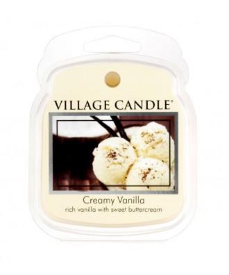 Village Candle - Wosk Zapachowy - Creamy Vanilla - Kremowa Wanilia