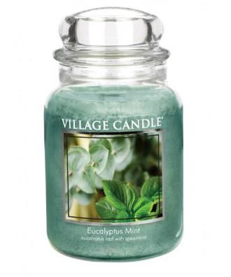 Village Candle - Świeca Duża - Eucalyptus Mint - Mięta i Eukaliptus