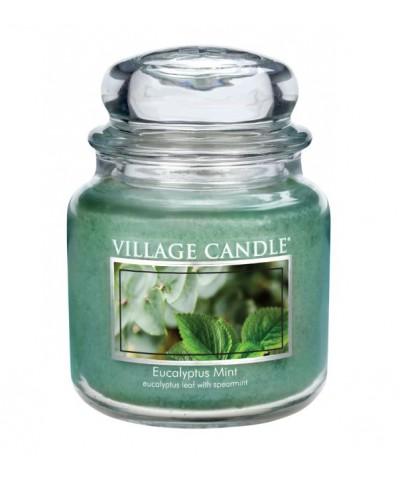 Village Candle - Świeca Średnia - Eucalyptus Mint - Eukaliptus i Mięta