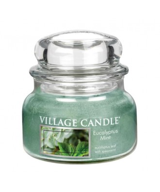Village Candle - Świeca Mała - Eucalyptus Mint - Eukaliptus i Mięta