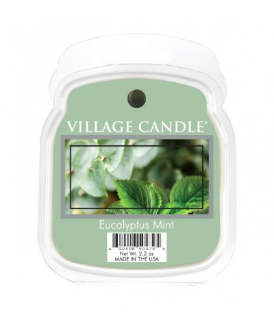 Village Candle - Wosk Zapachowy - Eucalyptus Mint - Eukaliptus i Mięta