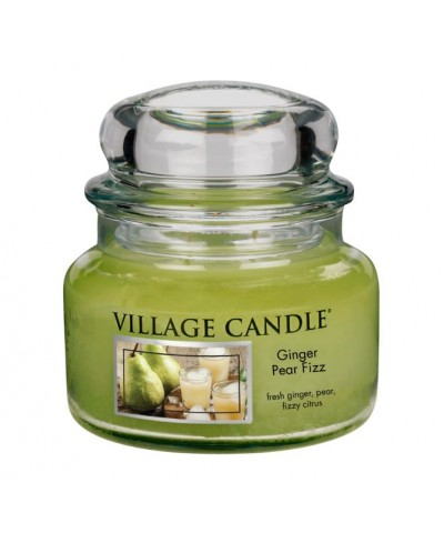 Village Candle - Świeca Mała - Ginger Pear Fizz - Musująca Gruszka z Imbirem