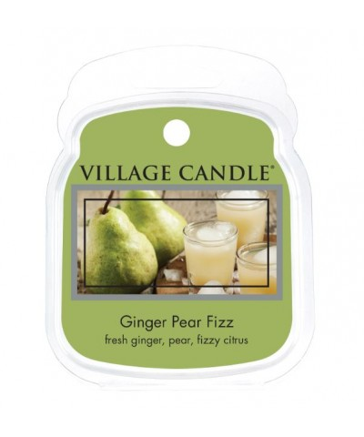 Village Candle - Wosk Zapachowy - Ginger Pear Fizz - Musująca Gruszka z Imbirem