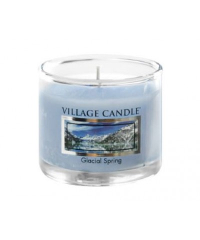 Village Candle - Glass Votive - Glacial Spring - Wiosna na Lodowcu