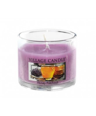 Village Candle - Glass Votive - Honey Patchouli - Miód i Paczula