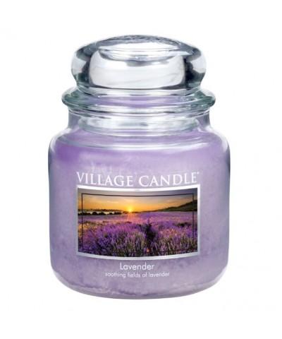Village Candle - Świeca Średnia - Lavender - Lawenda
