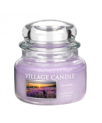 Village Candle - Świeca Mała - Lavender - Lawenda