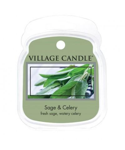 Village Candle - Wosk Zapachowy - Sage & Celery - Szałwia i Seler