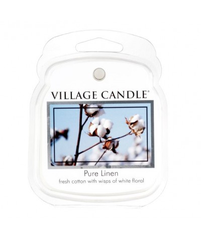 Village Candle - Wosk Zapachowy - Pure Linen - Czysta Bawełna