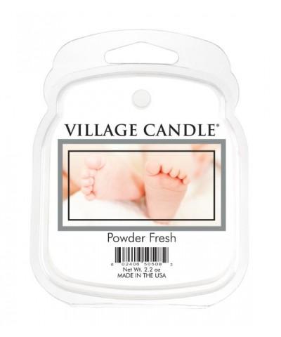 Village Candle - Wosk Zapachowy - Powder Fresh - Pudrowa Świeżość
