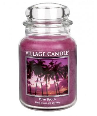 Village Candle - Świeca Duża - Palm Beach - Palmowa Plaża