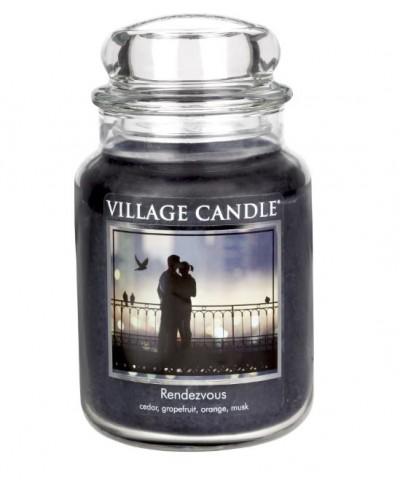Village Candle - Świeca Duża - Rendezvous - Randka