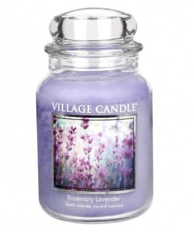 Village Candle - Świeca Duża - Rosemary Lavender - Lawenda i Rozmaryn