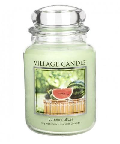 Village Candle - Świeca Duża - Summer Slices - Letnie Plastry Owoców