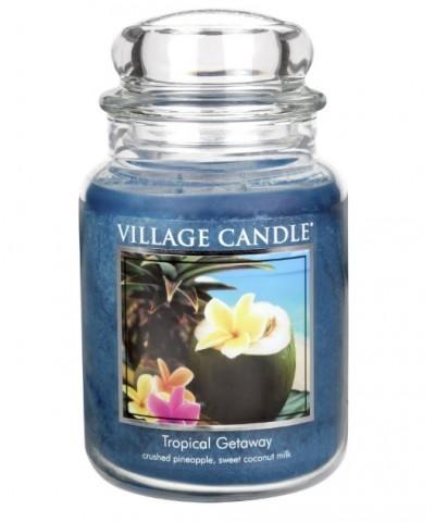 Village Candle - Świeca Duża - Tropical Gateway - Ucieczka w Tropiki