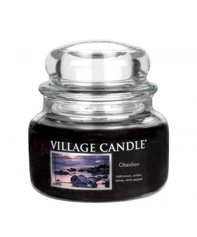 Village Candle - Świeca Mała - Obsidian
