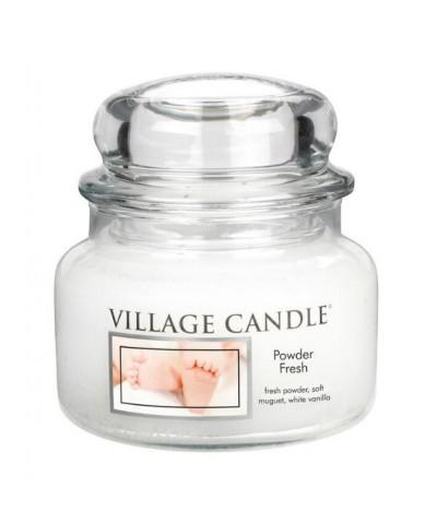 Village Candle - Świeca Mała - Powder Fresh - Pudrowa Świeżość