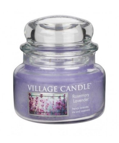 Village Candle - Świeca Mała - Rosemary Lavender - Lawenda i Rozmaryn