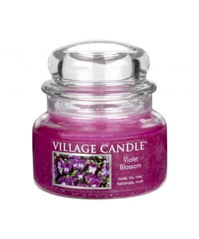 Village Candle - Świeczka Mała - Violet Blossom - Kwitnące Fiołki