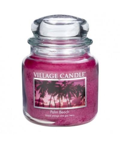 Village Candle - Świeca Średnia - Palm Beach - Palmowa Plaża