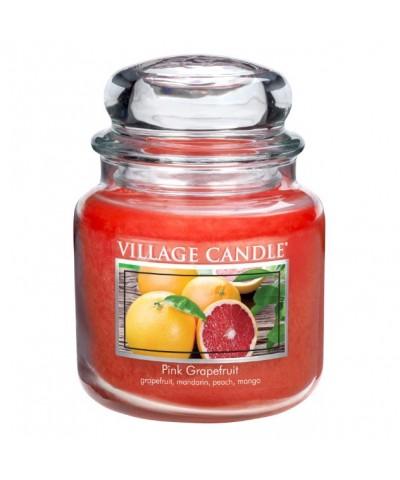 Village Candle - Świeca Średnia - Pink Grapefruit - Różowy Grapefruit