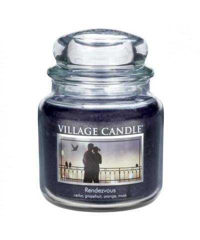 Village Candle -Świeca Średnia - Rendezvous - Randka