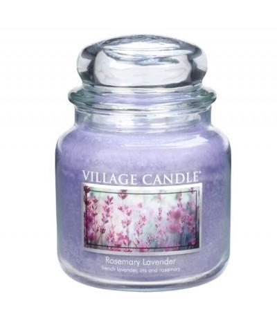 Village Candle - Świeca Średnia - Rosemary Lavender - Lawenda i Rozmaryn