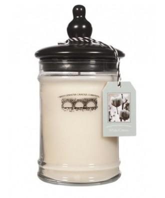 Bridgewater - Świeca Duża - White Cotton - Biała Bawełna