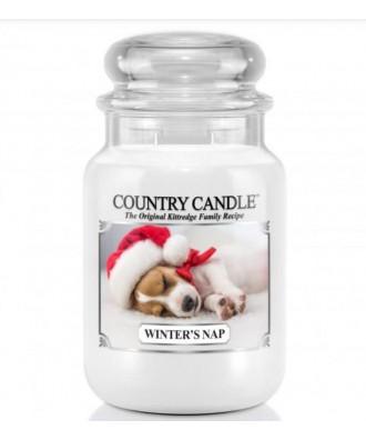 Country Candle - Winter's Nap - Zimowa Drzemka - Duża Świeca