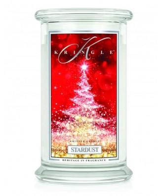 Kringle Candle - Stardust - Gwiezdny Pył - Świeca Duża 2 Knoty
