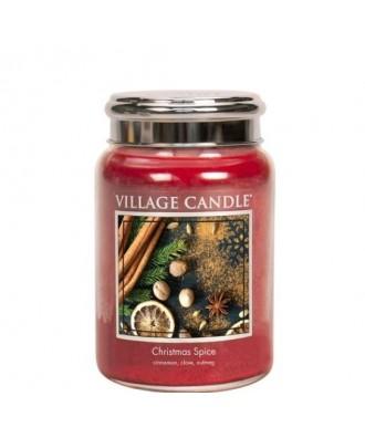 Village Candle - Christmas Spice - Świąteczne Przyprawy - Świeca Duża
