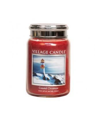 Village Candle - Coastal Christmas - Święta Nad Morzem - Świeca Duża