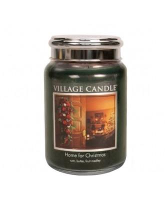 Village Candle - Home For Christmas - Święta w Domu - Świeca Duża