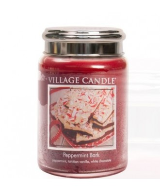 Village Candle - Peppermint Bark - Ciasteczka z Miętą - Świeca Duża