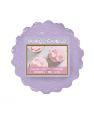 Yankee Candle - Sweet Morning Rose - Wosk Zapachowy