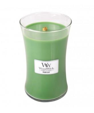 Woodwick - Palm Leaf - Liść Palmowy - Świeca Zapachowa Duża Core