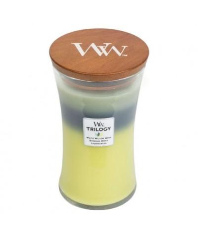 Woodwick - Woodland Shade - Świeca Zapachowa Duża Trilogy