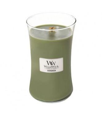 Woodwick - Evergreen - Świeca Zapachowa Duża Core