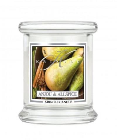 Kringle Candle - Anjou & Allspice - Świeca Zapachowa Mini