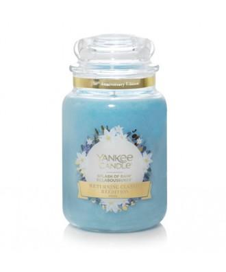 Yankee Candle - Splash Of Rain - Świeca zapachowa Duża