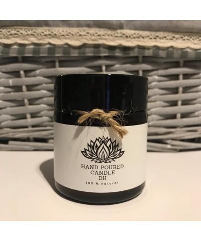 Hand Poured Candle DK - Czarny Kokos - Świeca Zapachowa Sojowa