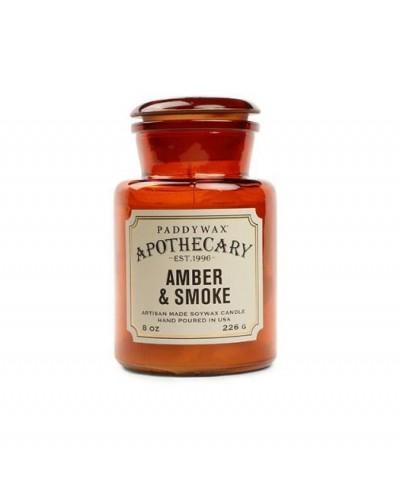 Paddywax - Amber & Smoke - Apothecary - Świeca Zapachowa Sojowa