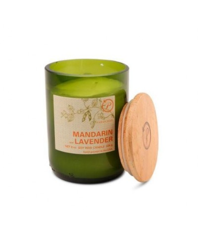 Paddywax - Mandarin & Lavender - Eco Green - Świeca Zapachowa Sojowa