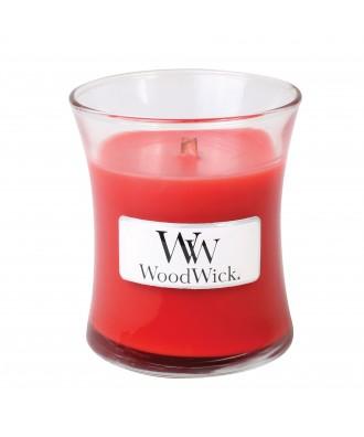 Woodwick - Cranberry Cider - Żurawinowy Cydr - Świeca Zapachowa Mała Core