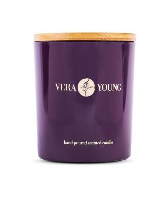 Vera Young - Wild Raspberry & Peppercorn - Bliss - Świeca Sojowa