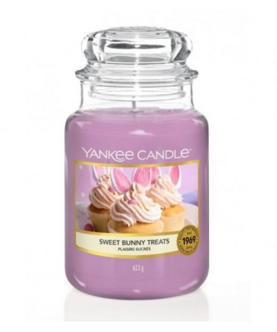 Yankee Candle - Sweet Bunny Treats - Duża Świeca Zapachowa