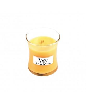 Woodwick - Seaside Mimosa - Nadmorska Mimoza - Świeca Zapachowa Mała Core