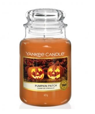 Yankee Candle - Pumpkin Patch - Halloween - Świeca Zapachowa Duża